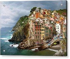 Riomaggiore Italy Acrylic Print