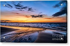 Riot Of Colour Acrylic Print by Adrian Evans