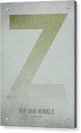 Rip Van Winkle Acrylic Print