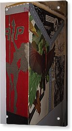 R.i.p. Acrylic Print by William Douglas