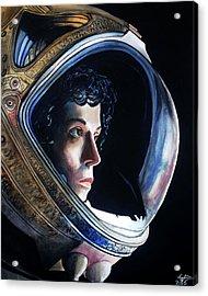 Ripley Acrylic Print by Tom Carlton