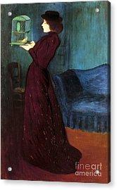 Ripple-ronai: Woman, 1892 Acrylic Print by Granger