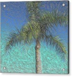 Rippled Palm Acrylic Print