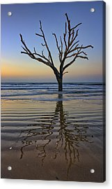 Rippled Reflection - Botany Bay Acrylic Print