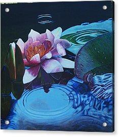 Ripples Acrylic Print by Joan Cookson