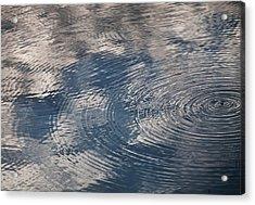 Ripples Acrylic Print by Richard Stephen