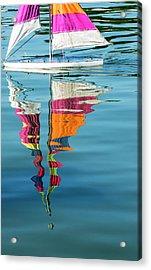 Rippling Reflections Acrylic Print
