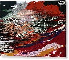 Riptide Acrylic Print by Ralph White