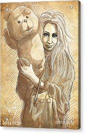 Risako Acrylic Print