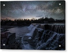 Acrylic Print featuring the photograph Rise And Fall by Aaron J Groen