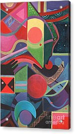 Rising Above And Synergy 2 Acrylic Print