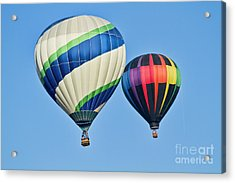 Rising High Acrylic Print by Arthur Bohlmann