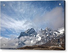Rising Mountains Acrylic Print by Scott Kemper