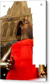 Rising Out Of Church Acrylic Print by Jez C Self