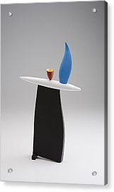 Rising Acrylic Print by Patricia  Volk