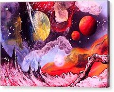 Rising Star  Acrylic Print by Tony Vegas