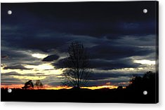Rising Sun Acrylic Print by Penny Everhart