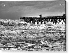 Rising Tide Acrylic Print by Rick Mann