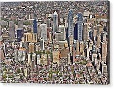 Rittenhouse Square Area Philadelphia Acrylic Print by Duncan Pearson