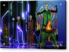 Rituals    . Acrylic Print by Shadowlea Is
