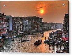 Riva Del Ferro. Venezia Acrylic Print