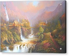 Rivendell Acrylic Print by Joe Gilronan