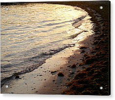 River Beach Acrylic Print