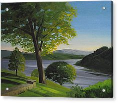 River Bend Acrylic Print by Robert Rohrich