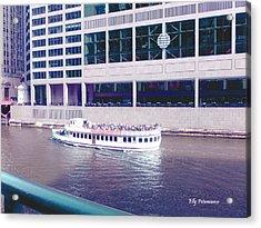 River Boat Tour Acrylic Print