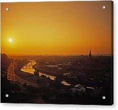 River Boyne, Drogheda, Co Louth, Ireland Acrylic Print by The Irish Image Collection