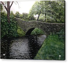 River Bridge Acrylic Print