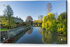 Acrylic Print featuring the photograph River Cam by James Billings