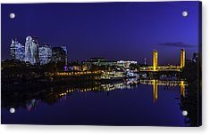 River City Blues Acrylic Print