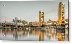 River City Waterfront Acrylic Print
