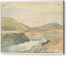 River Clarence 1864 New Zealand By James Crowe Richmond Acrylic Print