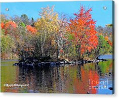 River Color Acrylic Print