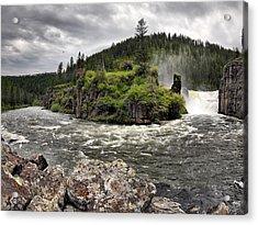 River Course Acrylic Print