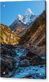Acrylic Print featuring the photograph River Crossing  by Owen Weber
