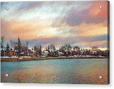 River Dream Acrylic Print