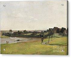River Elbe Acrylic Print