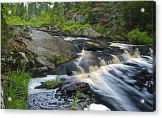 River Flow V Acrylic Print by Sean Holmquist