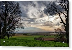 Acrylic Print featuring the photograph River Forth View From Clackmannan Tower by Jeremy Lavender Photography