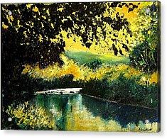 River Houille  Acrylic Print by Pol Ledent