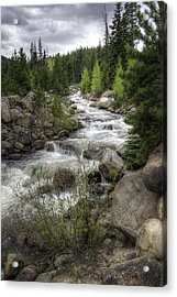 River In The Park Acrylic Print