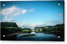 Acrylic Print featuring the photograph River Islands by Marvin Spates