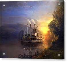 River King Acrylic Print