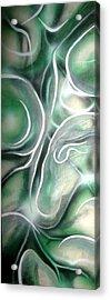 River Acrylic Print by Leigh Odom