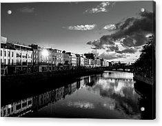 River Liffey Acrylic Print