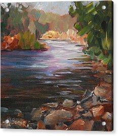 River Light Acrylic Print