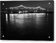 River Lights Acrylic Print by John Gusky